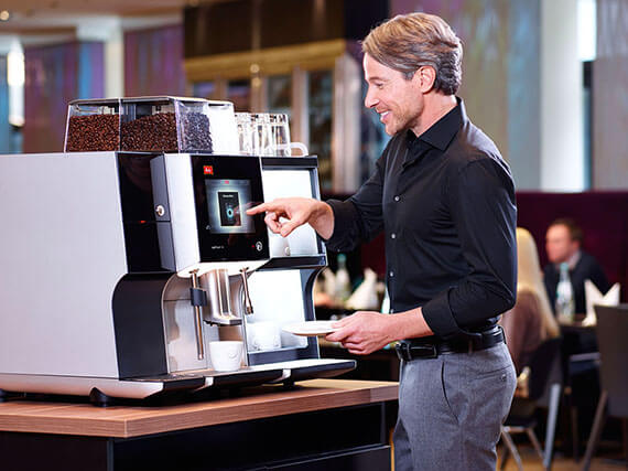 Gastro coffee machine Melitta - set the scene for what you offer