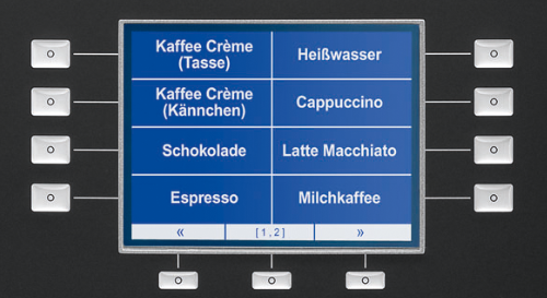 Melitta® cup - Grafikdisplay